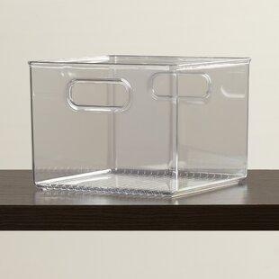 clear acrylic storage bins wayfair