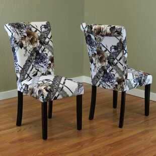Grigsby Upholstered Dining Chair (Set of 2) by Red Barrel Studio