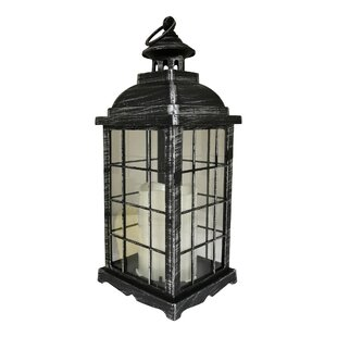 Rausch Battery-Operated 1 Light LED Outdoor Hanging Lantern By World Menagerie Outdoor Lighting