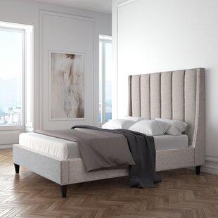Wade Logan Odina Upholstered Platform Bed
