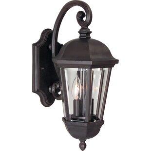 Oakhill 2-Light Bronze Outdoor Wall Lantern