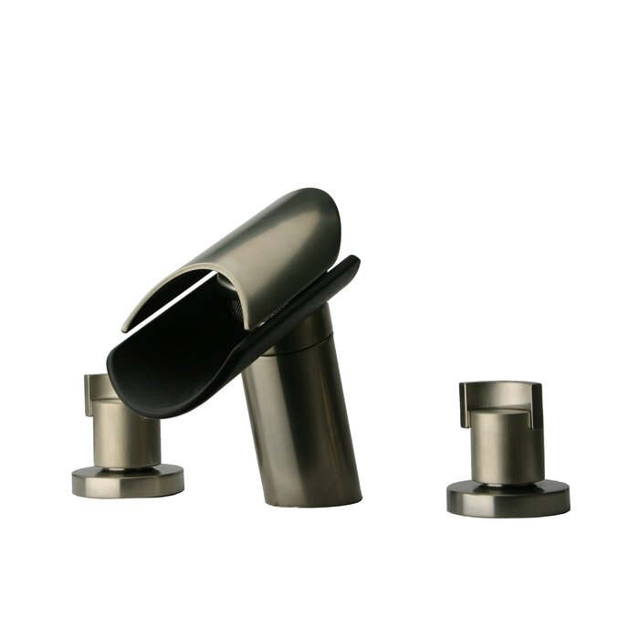 LaToscana Morgana Widespread Lavatory Faucet with Wenge Spout ...