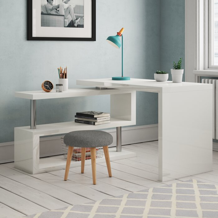 brand new a713d 81c19 Fienley L-Shape Desk