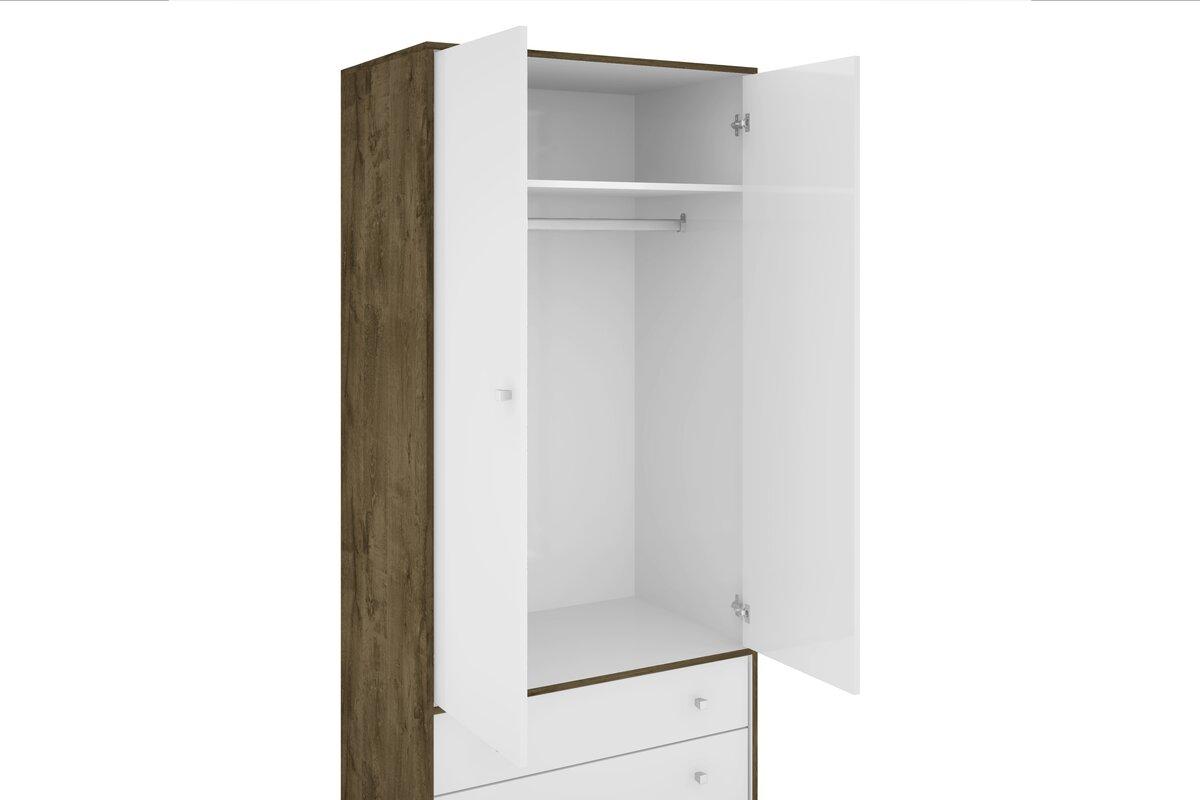 lewis mid century modern armoire. george oliver lewis mid century modern armoire  reviews  wayfair