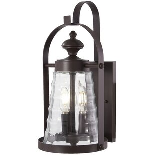 Deals Elwell 3-Light Outdoor Wall Lantern By August Grove