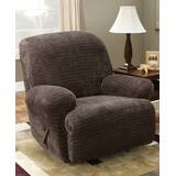 Stretch Royal Diamond Box Cushion Recliner Slipcover by Sure Fit