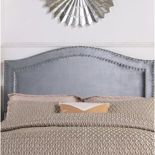 Inexpensive Tricia Upholstered Panel Headboard by House of Hampton