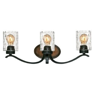 Affordable Price Burtondale 3-Light Vanity Light By Gracie Oaks