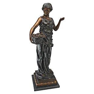 Goddess Of Nature Cast Bronze Garden Statue
