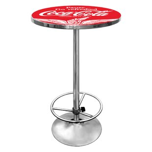 Coca Cola Pub Table III by Trademark Global Modern