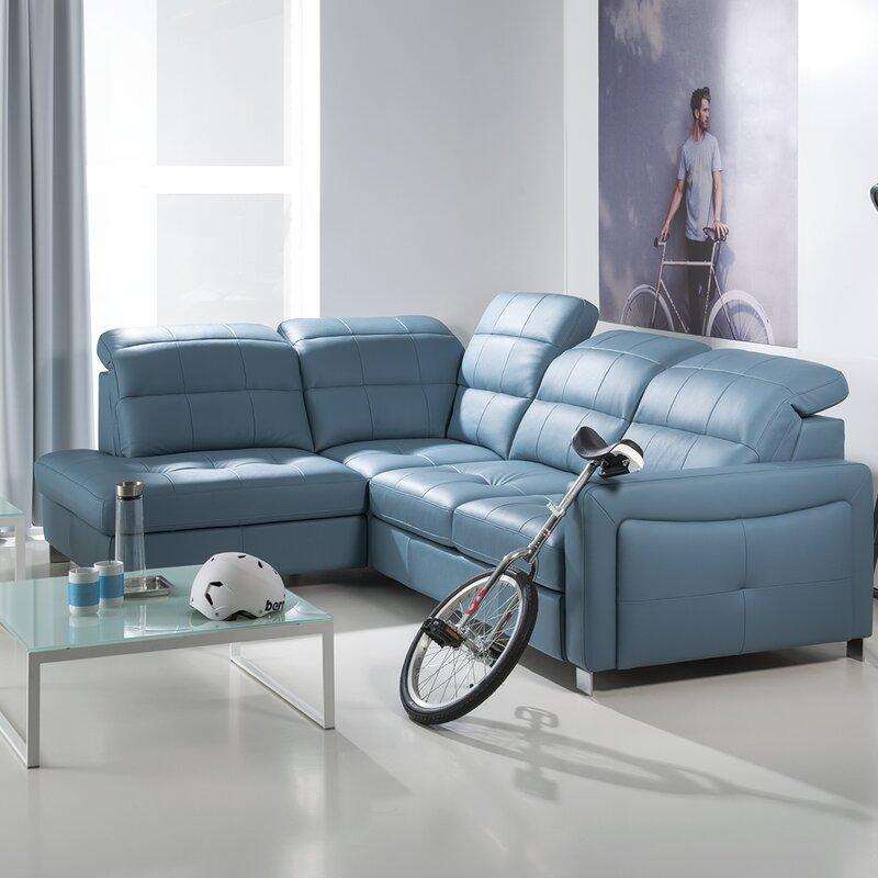 home haus schlafsofa mirto aus echtleder bewertungen. Black Bedroom Furniture Sets. Home Design Ideas