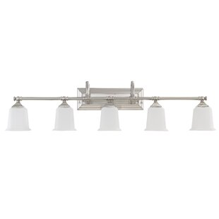 Compare & Buy Bima 5-Light Vanity Light By Three Posts