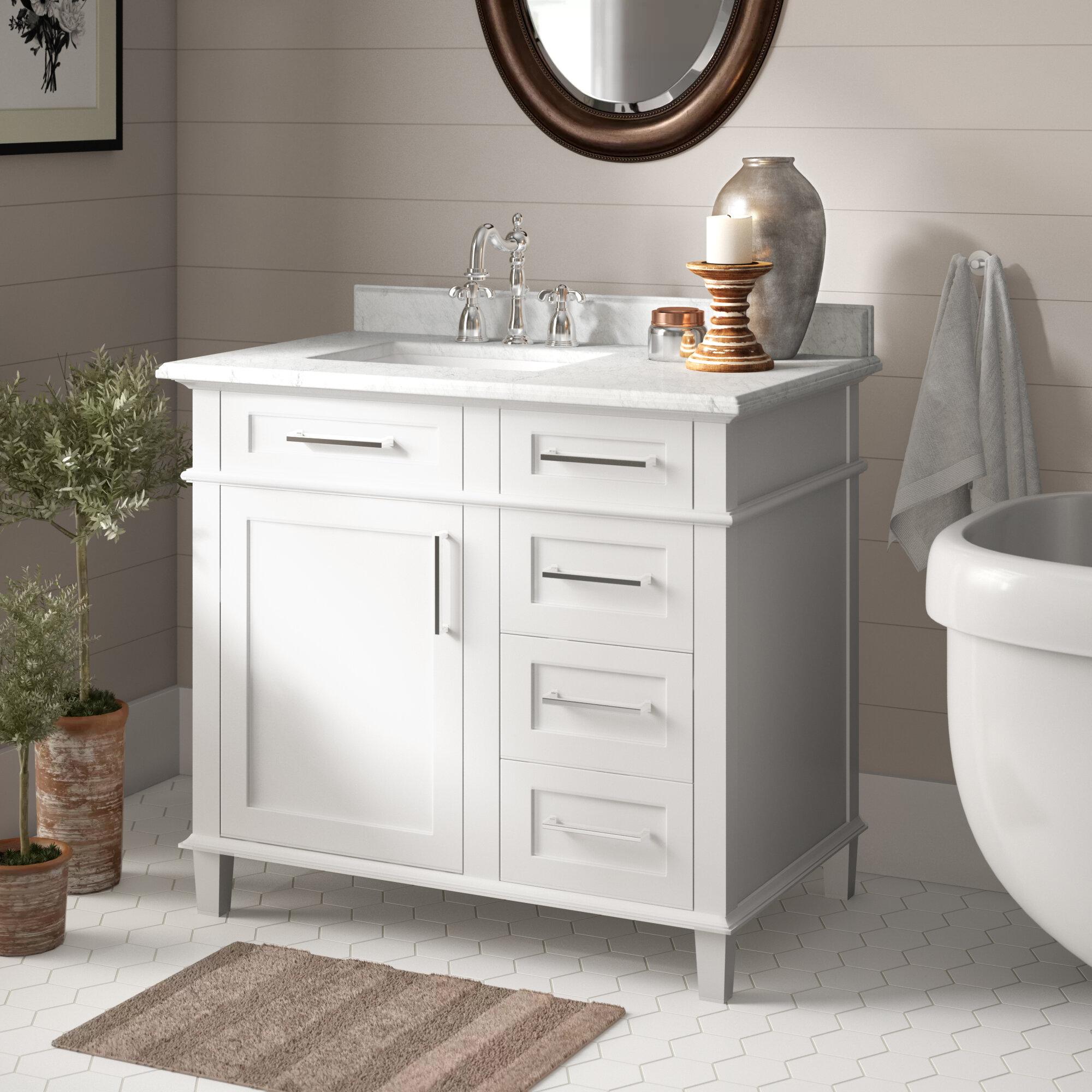 Newport 36 Single Bathroom Vanity Reviews Birch Lane