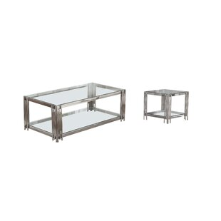Hardman 2 Piece Coffee Table Set