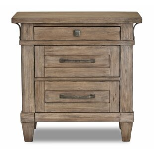 Ariel 3 Drawers NightStand