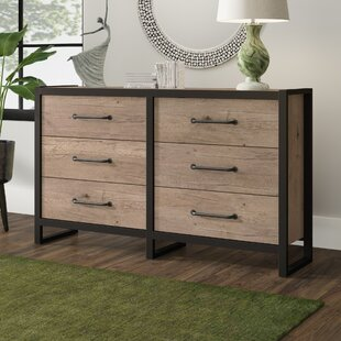 Caskey 6 Drawer Double Dresser
