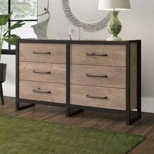 Caskey 6 Drawer Double Dresser