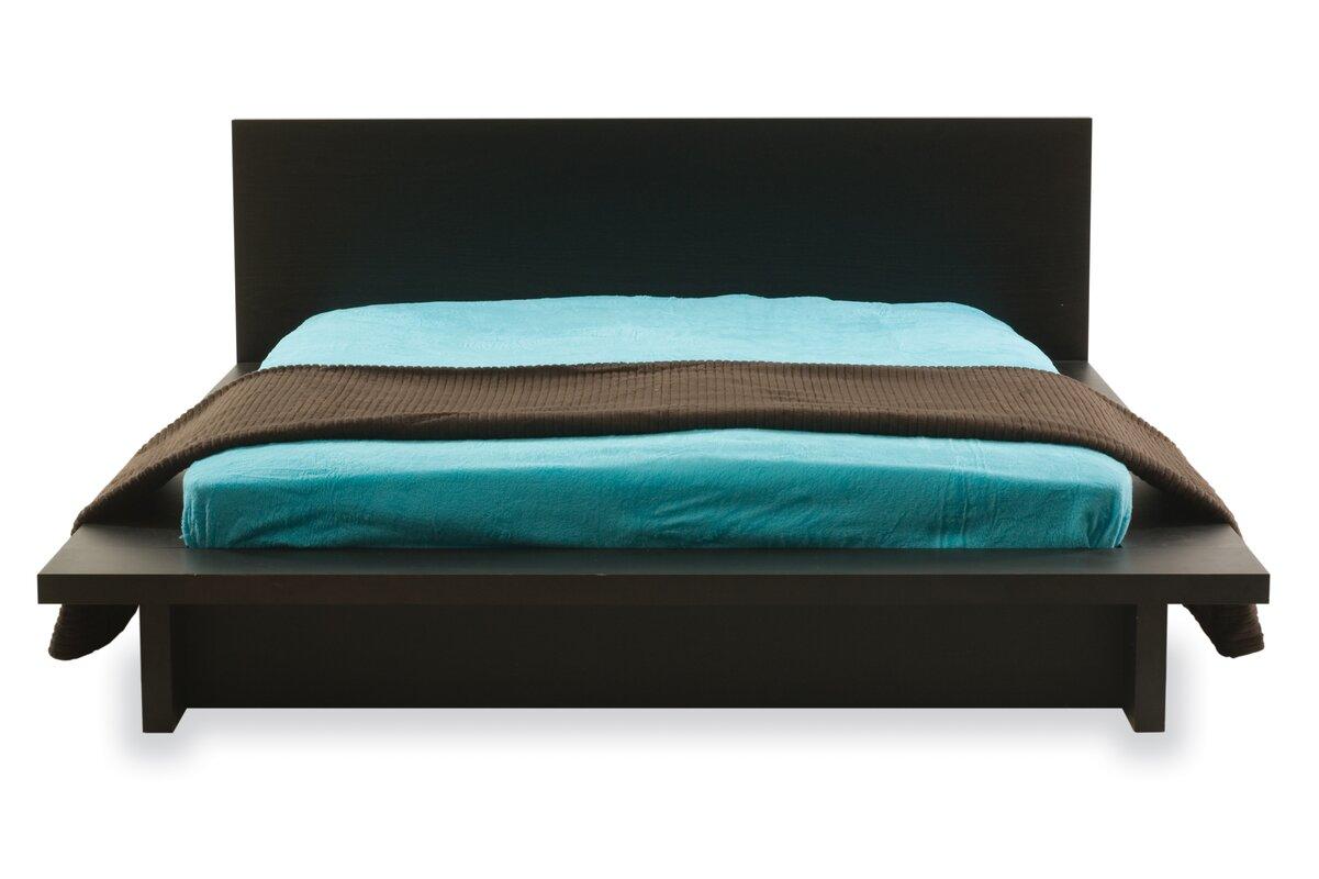 Queen platform bed frame - Queen Platform Bed