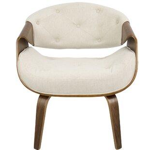 Langley Street Lisburn Curvo Barrel Chair