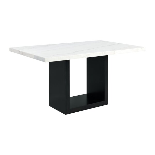 House Of Hampton Pinecrest Counter Height Dining Table Wayfair