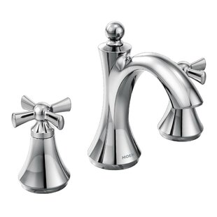 Wynford Widespread Bathroom Faucet by Moen