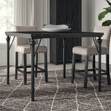 Crooke Wood Counter Height Dining Table by Greyleigh™