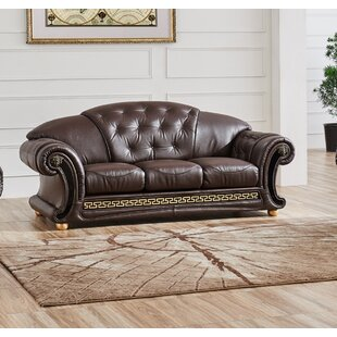 Alexzander Leather Sofa
