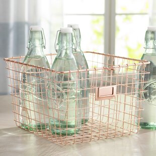 Steel Medium Storage Basket