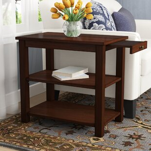 Compare prices Morristown End Table With Storage By Three Posts