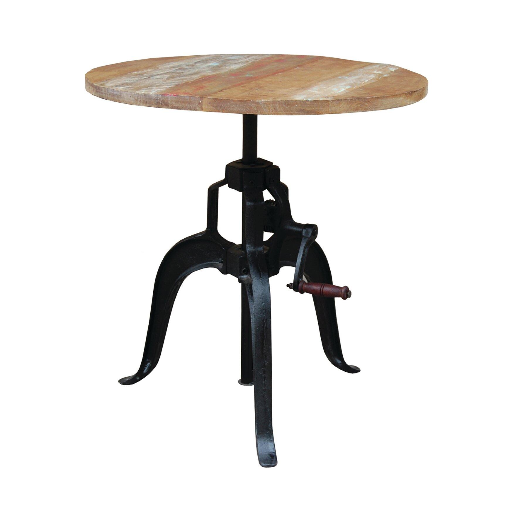 Yosemite Home Decor Adjustable Height Pub Table U0026 Reviews | Wayfair