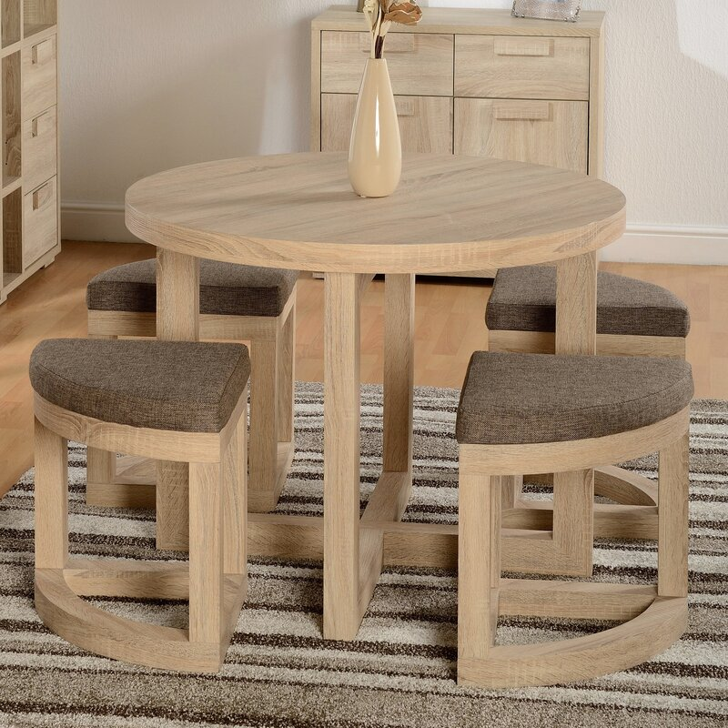 Dining Set For 4 Part - 24: Wansley Dining Set With 4 Chairs