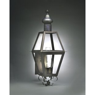 Reviews Boston 3-Light Outdoor Sconce By Northeast Lantern