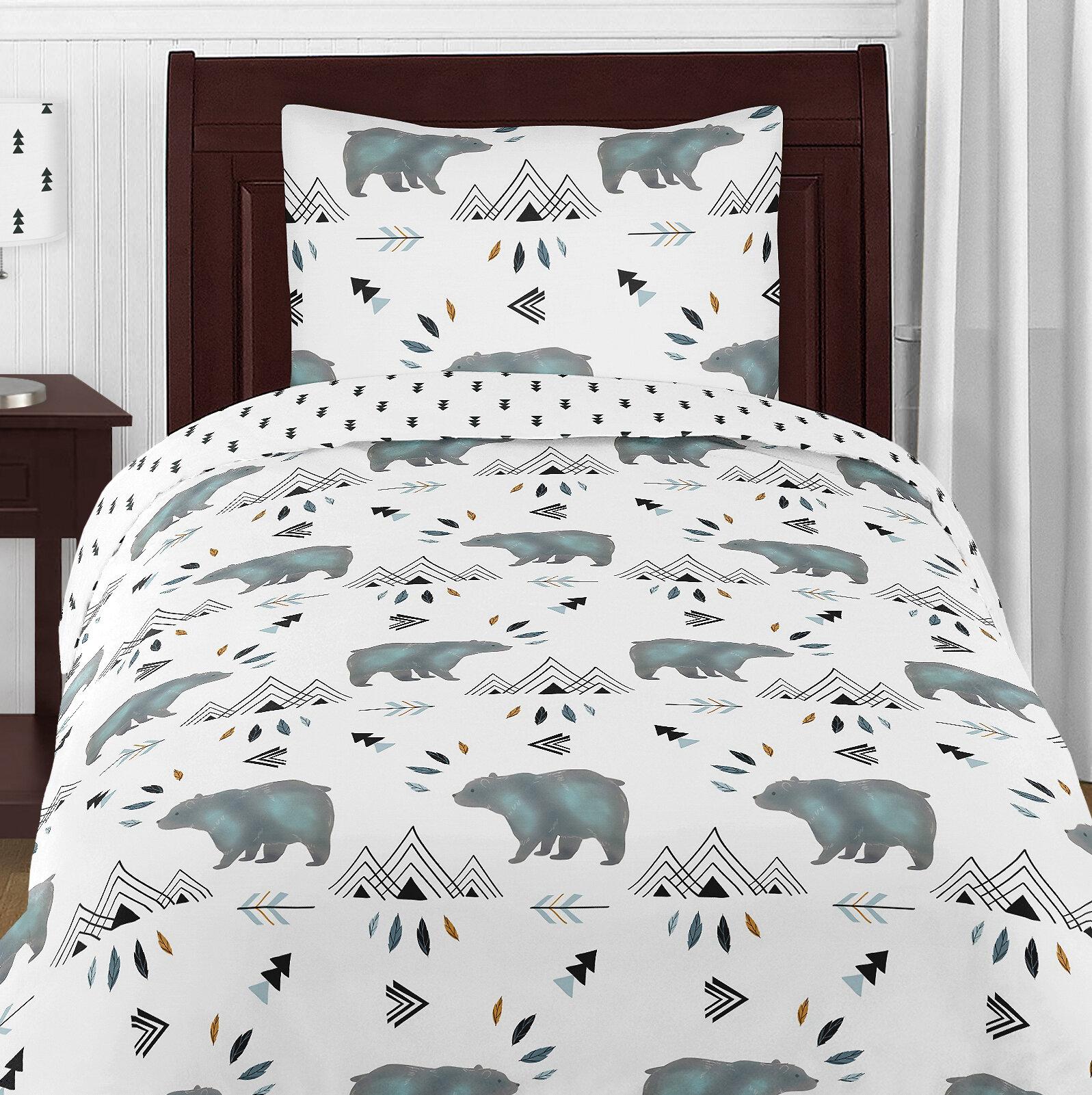 Sweet Jojo Designs Bear Mountain Comforter Set Reviews Wayfair