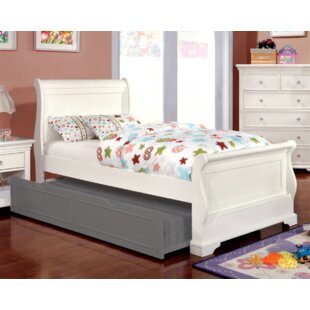 Wetzel Sleigh Bed by Harriet Bee