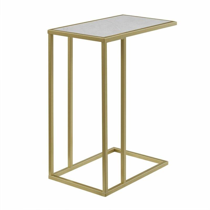 19c60518b8c9 Jorgensen Asymmetrical Modern End Table   Reviews