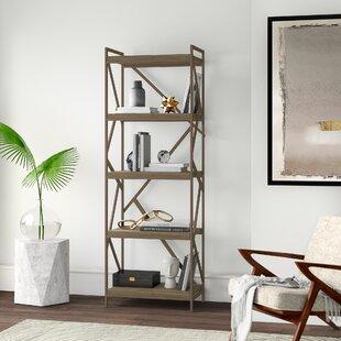 Derwood Etagere Bookcase by Mercury Row