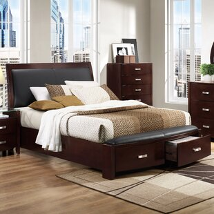 Rushmere Upholstered Storage Platform Bed