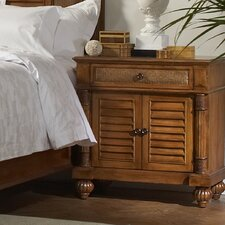 Island Manor 1 Drawer Nightstand by Braxton Culler