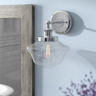 Laurel Foundry Modern Farmhouse Hildred 1-Light LED Bath Sconce