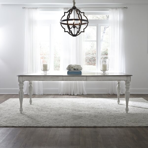 Lark Manor Tiphaine Extendable Dining Table Amp Reviews