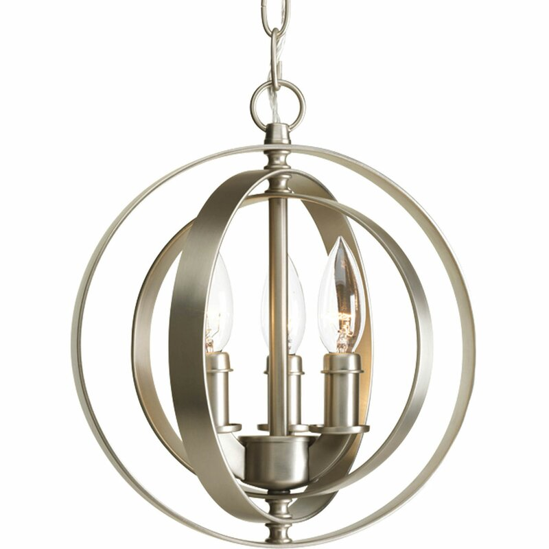castello 3light pendant