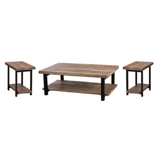 Comparison Veropeso 3 Piece Coffee Table Set By Mistana