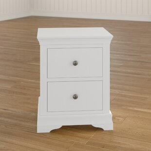 Flora 2 Drawer Bedside Table By Brambly Cottage