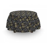 Countryside Foliage Ottoman Slipcover (Set of 2) by East Urban Home