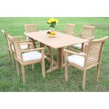 Krausgrill Luxurious 7 Piece Teak Dining Set