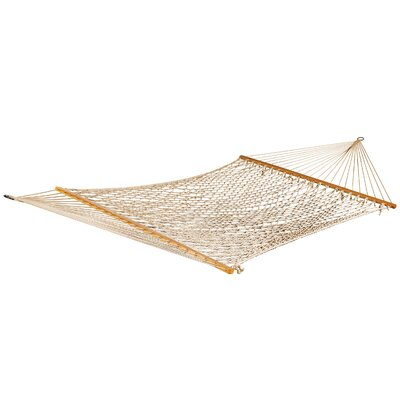 Rollins Double Polyester Rope Hammock by Bay Isle Home Great Reviews