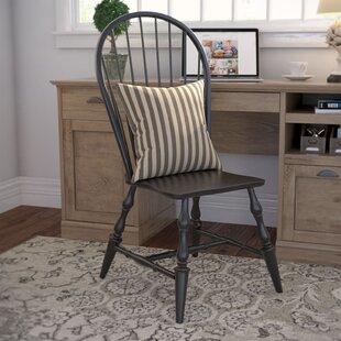 Loon Peak Lockwood Solid Wood Dining Chair (Set of 2)