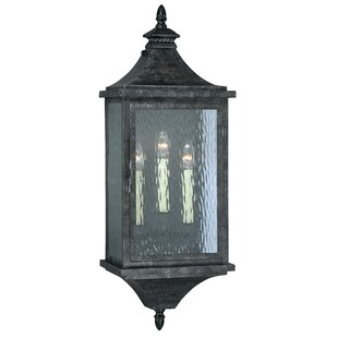 Darby Home Co Wilhelmina 3-Light Outdoor Sconce