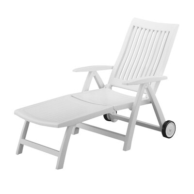 Argo Multi-Position Reclining Chaise Lounge by Andover Mills