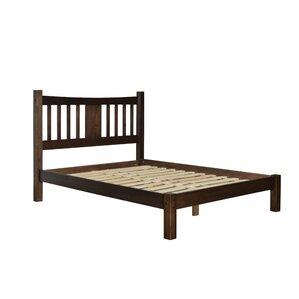 Shaker Platform Bed by Grain Wood Furniture